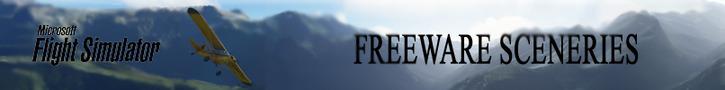Microsoft Flight Simulator freeware sceneries logo